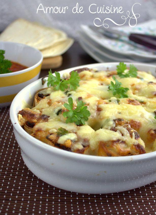 gratin de tortillas a la bolognaise - Amour de cuisine