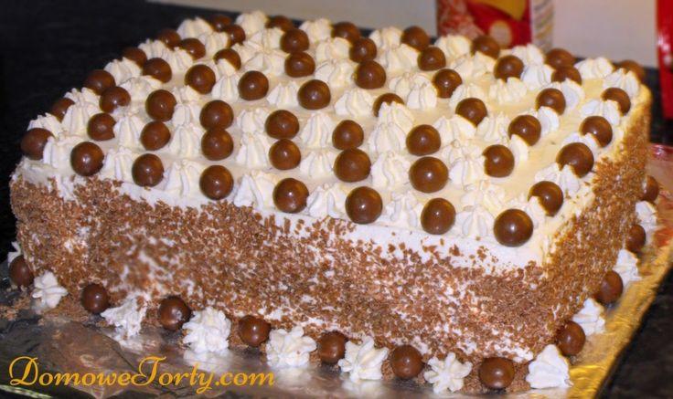 Tort smietanowo-krowkowy xl