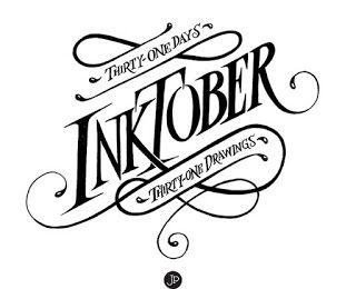 HenArte & TIC's: #InkToberspain2016 ...De retos, tintas, imaginació...