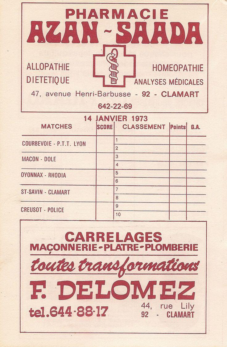 Calendrier 1972-1973 - 2ème Division - Page 16