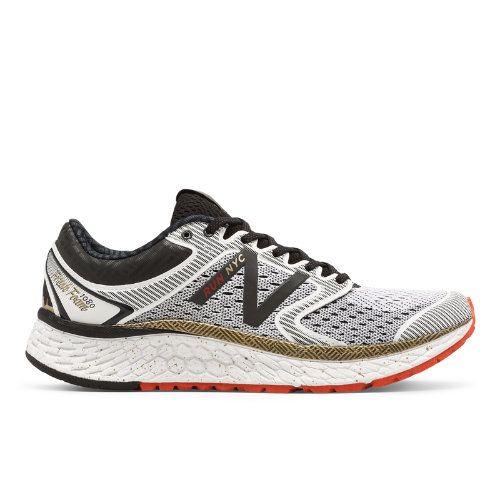 New Balance Fresh Foam 1080v7 NYC Marathon Women's Soft and Cushioned Shoes  - White / Gold