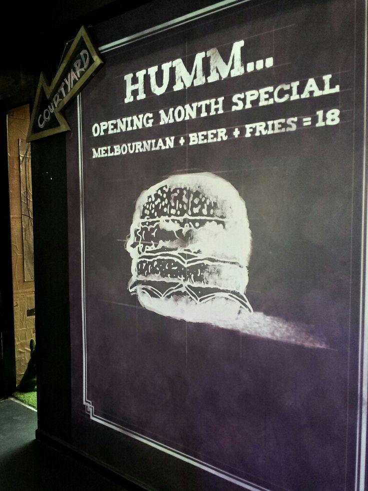 Humburger Cafe, Hawthorn, Melbourne