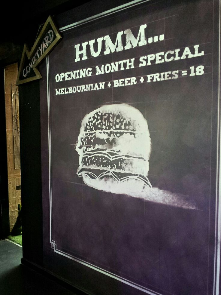 Humburger Cafe, Hawthorn, Melbourne