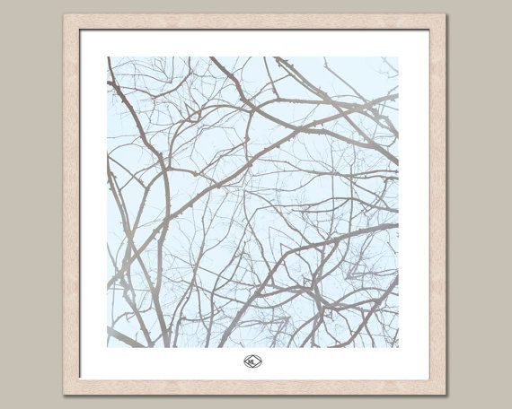 Pale Winter 24x24F by MillyLillyArtistry on Etsy