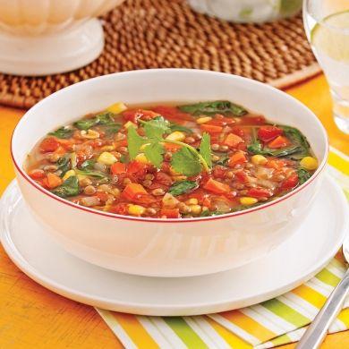 Chaudrée mexicaine - Recettes - Cuisine et nutrition - Pratico Pratique