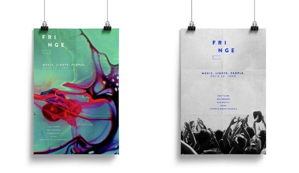 Fringe - music festival on Behance