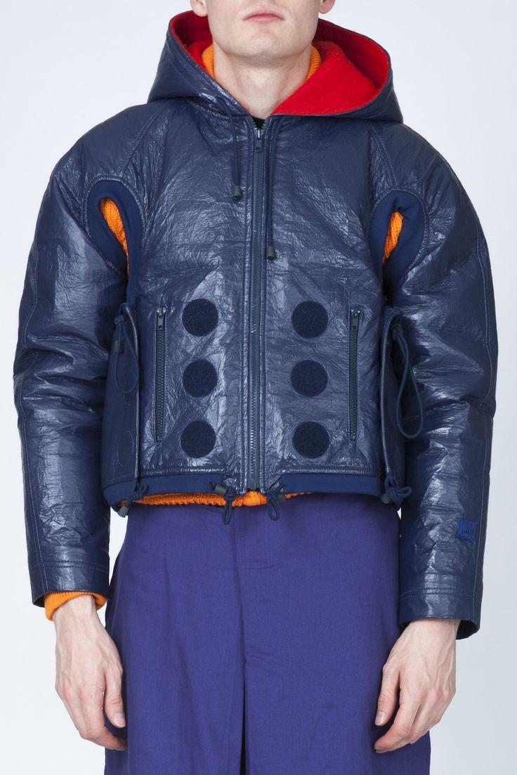 Walter Van Beirendonck hooded jacket – dot.COMME Online store