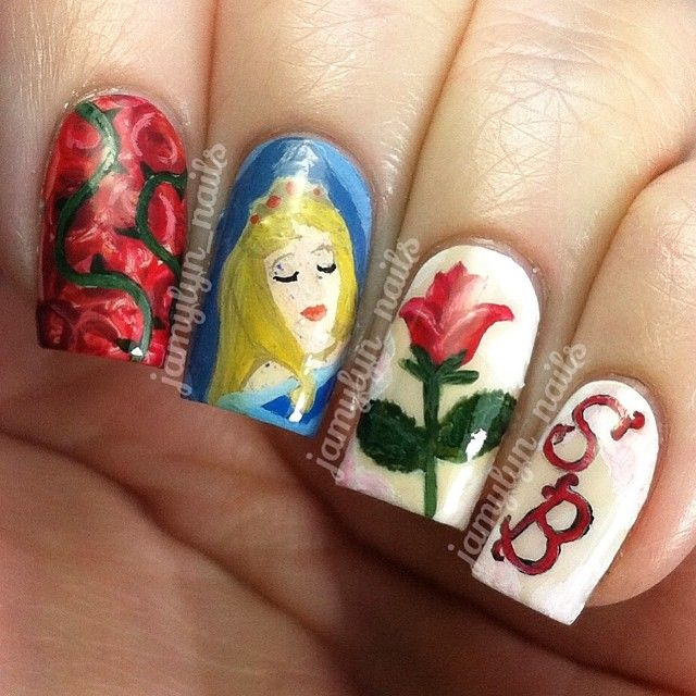 """Sleeping Beauty Nails: 1000+ Images About """"I Know You I Danced With You Once Upon"""