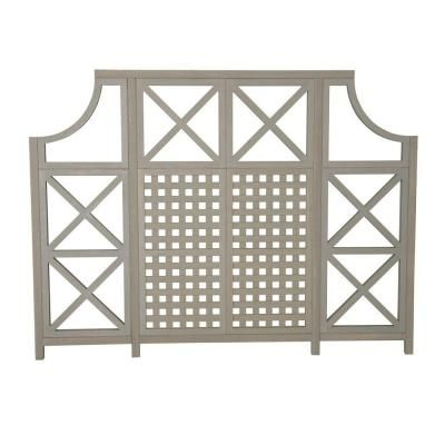 Yardistry 84 in. x 2 in. Cedar Garden Screen Kit-YM11535 at The Home Depot