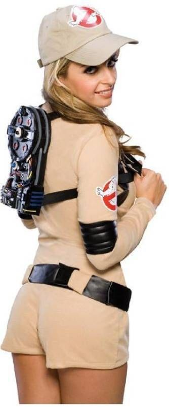 Adult Ghostbusters Sexy Womens Fancy Dress Costume #Rubies #CompleteCostume