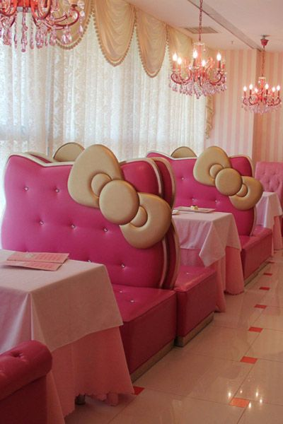 Hello Kitty Restaurant in Bejing