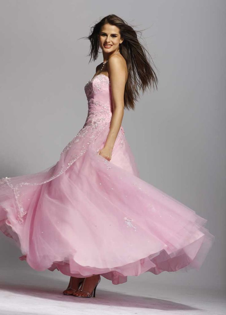 The 93 best PINK PROM DRESSES images on Pinterest | Pageant dresses ...