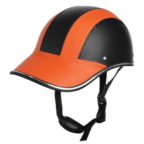 CARCHET Motorcycle Helmet Baseball Style Bike Half Helmets Motocross Open Face Helmet Safety cascos para moto capacete 55-60CM