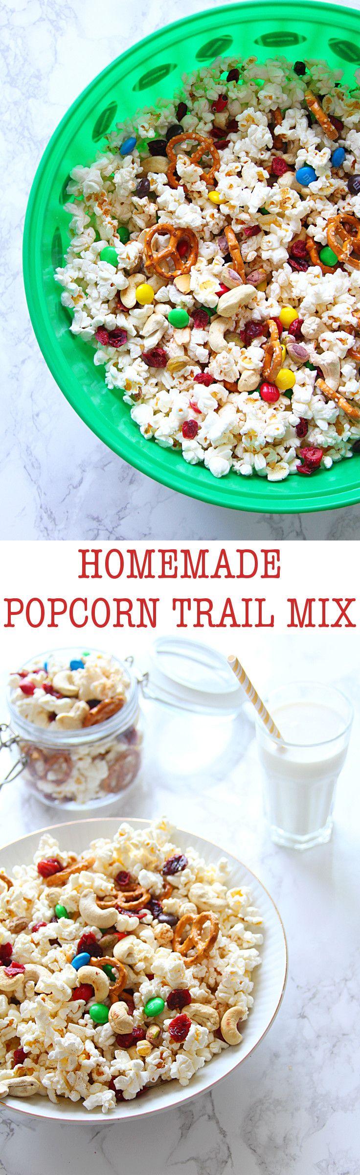Popcorn trail mixes on Pinterest | Kids snack mix, Trails end popcorn ...