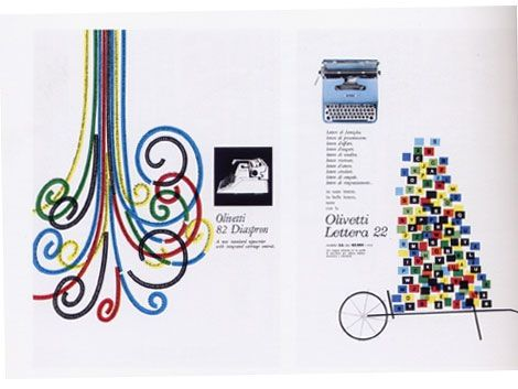giovanni pintori -Olivetti exhibition catalog