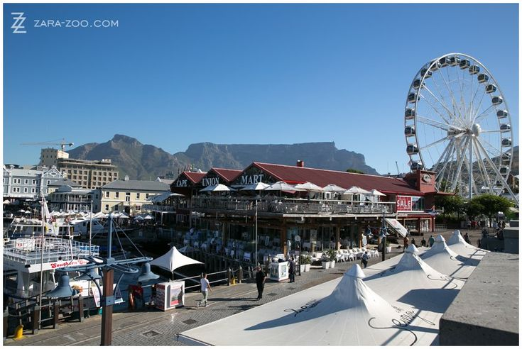 V&A Waterfront in Cape Town, South Africa.