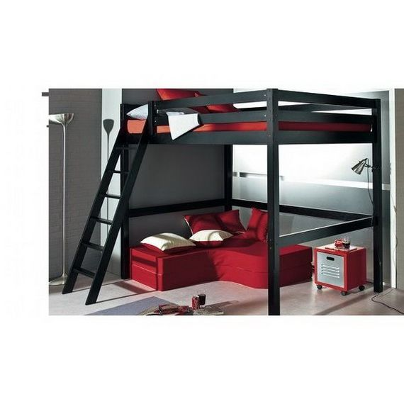 Loft+Beds+for+Small+Rooms | Practical Loft Beds For Small Interiors