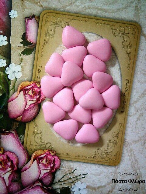 Hatzigiannakis's dragees! Chocolate hearts!