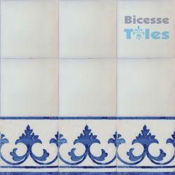 ASK 1115 Portuguese painted border tiles Azulejos