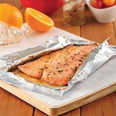 Filet de truite, sauce moutarde et orange - Recettes - Cuisine et nutrition…