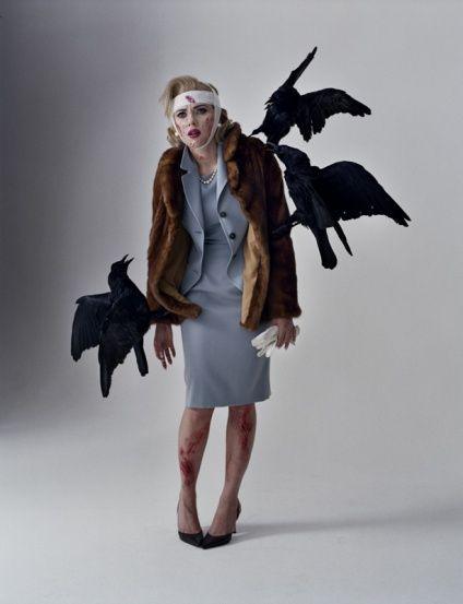 Scarlett Johansson by Tim WalkerScarlett Johansson, Halloween Costumes, Timwalker, Costumes Halloween, Alfred Hitchcock, Tim Walker, Tippi Hedren, Birds, Costumes Ideas
