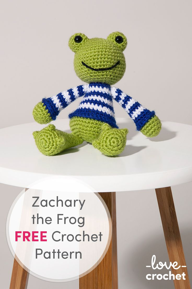 Free Frog Knitting Pattern : 17 Best ideas about Crochet Frog on Pinterest Crocheted animals, Ravelry co...