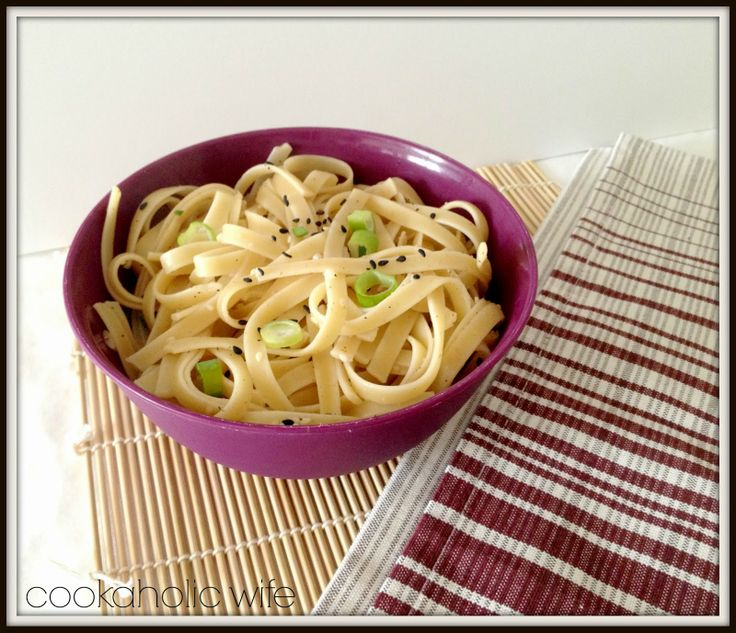 Cookaholic Wife: Secret Recipe Club: Ginger Scallion Noodles
