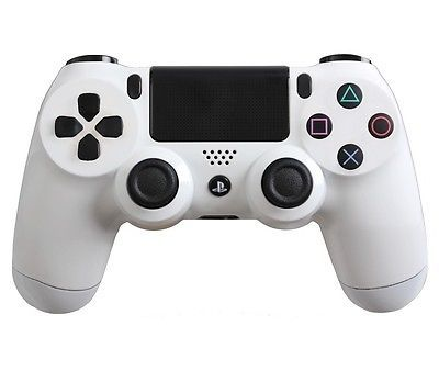 White PlayStation 4 Dual Shock Controller