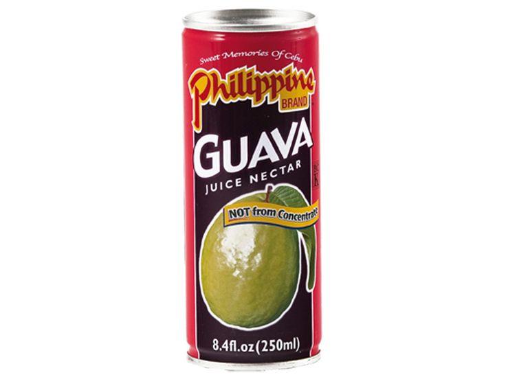 #Guavenectar #Philippine Brand is beroemd vanwege zijn heerlijke vruchtensappen van de beste wereldberoemde Filipijnse mango�s, guaves en ananas. Het sap van dit merk smaakt zo lekker dat het lijkt alsof de verse vruchten zo in het glas geperst worden. Een puur vruchtengenot zonder kunstmatige toevoegingen. De zoete, licht zurige smaak van de guave kan omschreven worden als een combinatie van peer, vijg en kweepeer.  #AsianFoodLovers