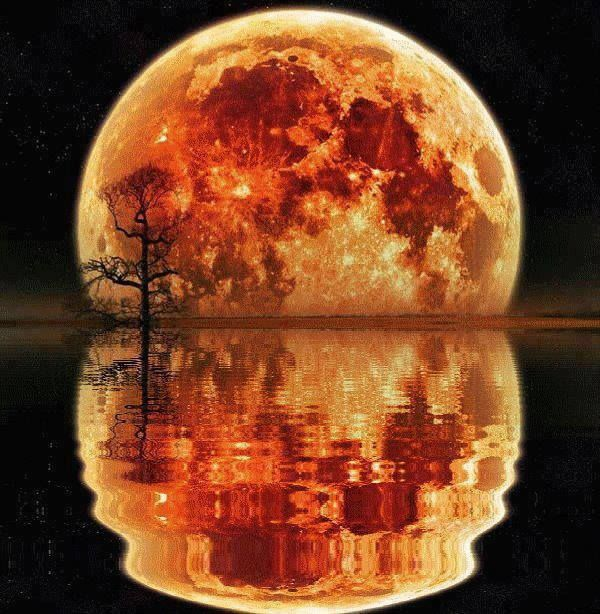 """Moon Melting Into The Water"""" I forgot just how big you are..."""" Tom Hanks in Joe vs the Volcano"""