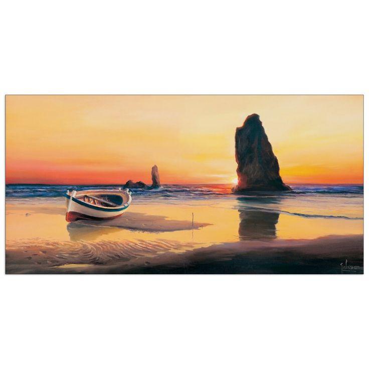 Galasso - L`impronta del tramonto 100x50 cm #artprints #interior #design #art #prints  Scopri Descrizione e Prezzo http://www.artopweb.com/categorie/panorami-e-citta/EC22042