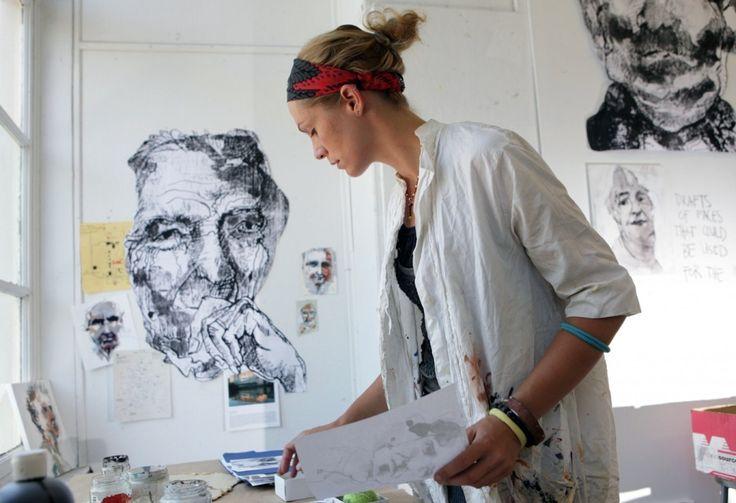 Visual artist Anna Schuleit by John Solem http://www.anna-haber.com