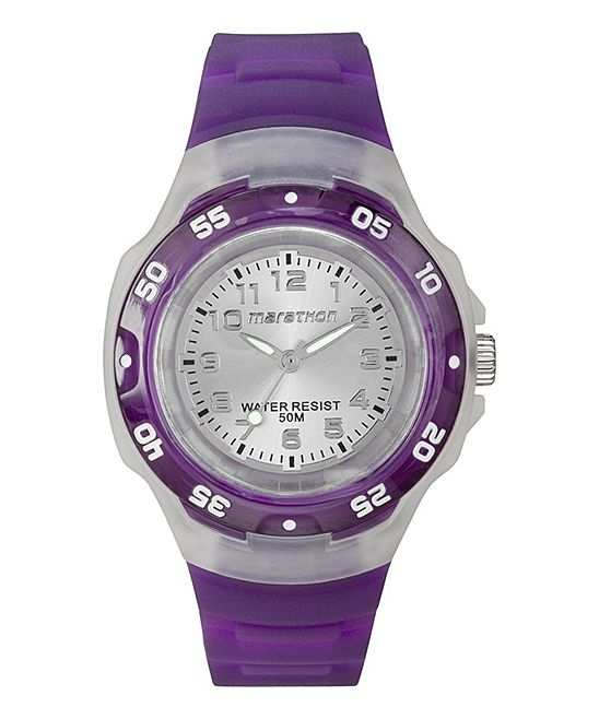 Purple Marathon Watch