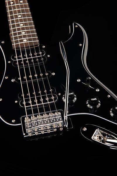 Fender Standard Stratocaster electric guitar. My dream!!