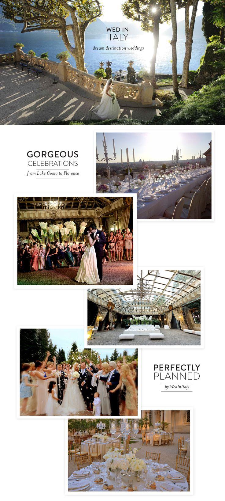 Italian Destination Weddings by WedInItaly  Read more - http://www.stylemepretty.com/destination-weddings/2013/12/12/italian-destination-weddings-by-wedinitaly/