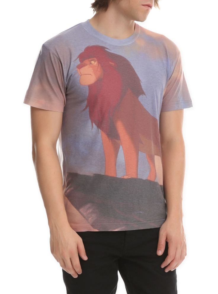 Disney The Lion King Mufasa Slim-Fit T-Shirt | Hot Topic