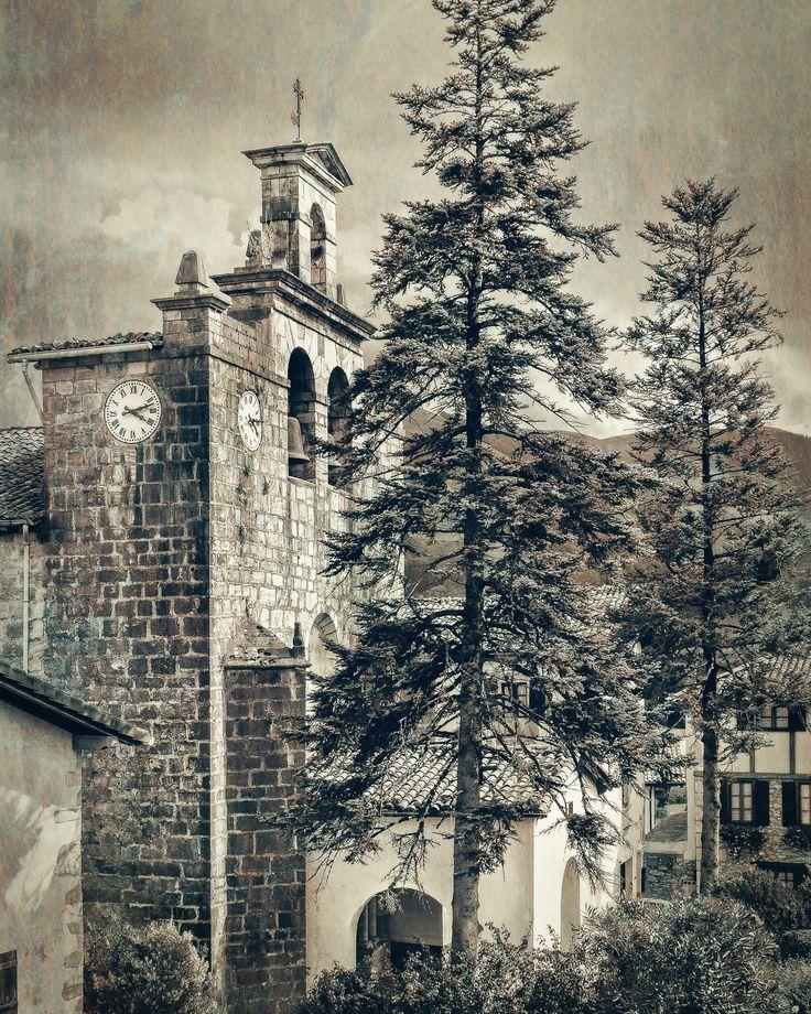 Iglesia de San Miguel Arcángel en Yanci Igantzi by Julio Sanchez on 500px