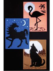 Plastic Canvas Book Downloads - Stunning Silhouettes in Plastic Canvas Pattern Pack