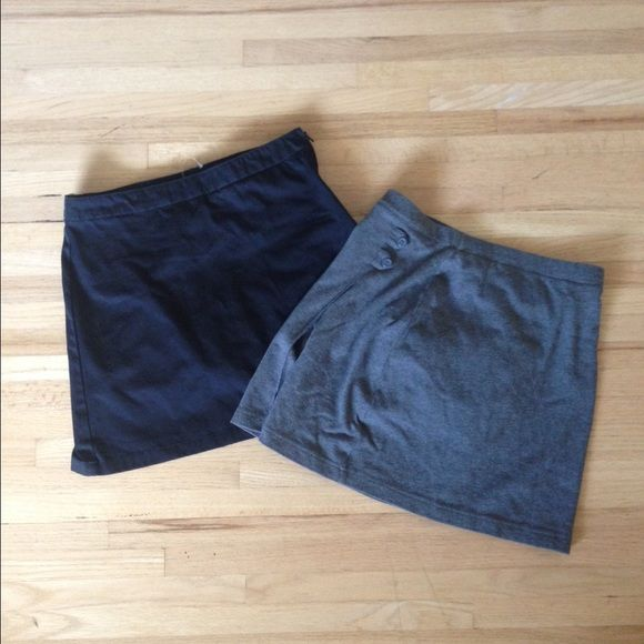 Two Lands' End skorts Originally from lands' ends kids but fits size 4 in women's sizes. Never worn!! Lands' End Dresses