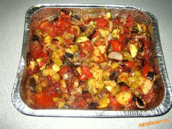 Briam - pečená zelenina