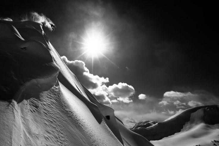 Adam Moran / Red Bul lIllume | Location: Pemberton, BC, Canada | Athlete: Frederik Kalbermatten #snowboard #photography