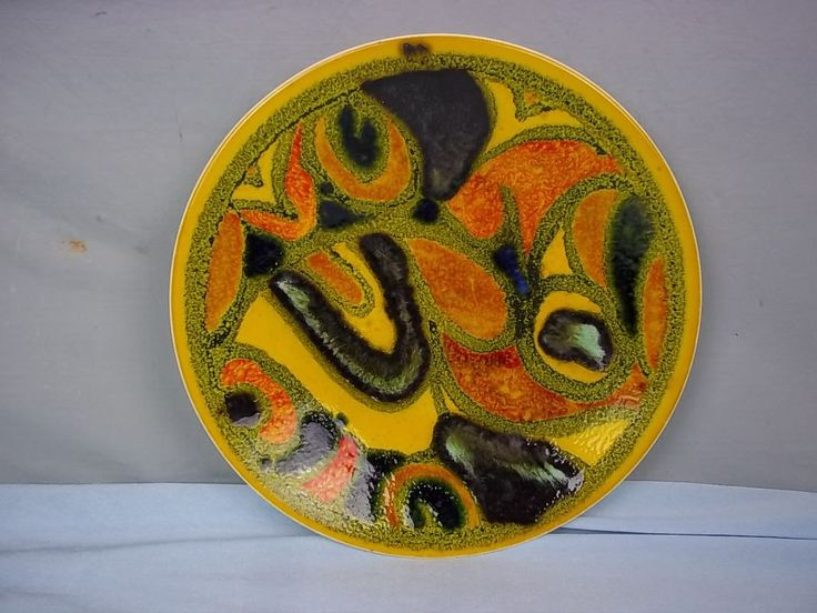 "Poole Pottery ""Delphis Bowl"" By Loretta Leigh"