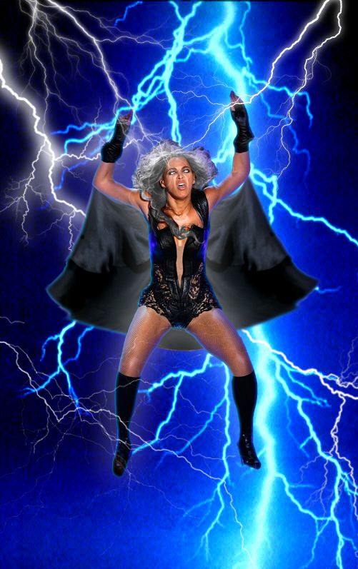 "Storm Beyoncé. | The Best Of The Internet's Response To Beyoncé's ""Unflattering"" Photos....hahahahaha"