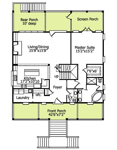 17 best ideas about low country homes on pinterest house for Best drive under house plans