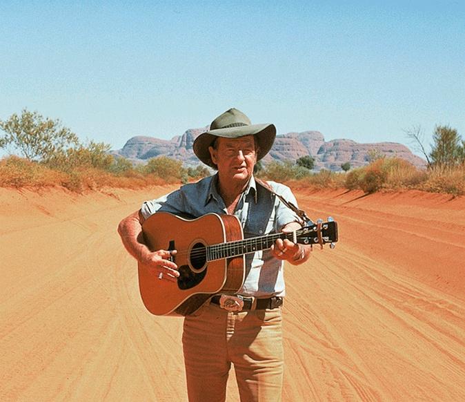 Slim Dusty. His good old songs will never die..