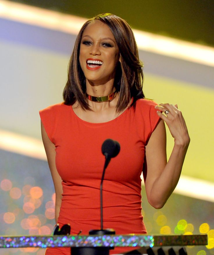 Tyra Banks Awards: Tyra Banks ...... Banks Was The First African American