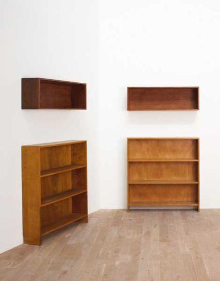 Le Corbusier, Pierre Jeanneret and Charlotte Perriand - Four bookcases, from the Pavillon Suisse, Cité Universitaire, Paris, 1933