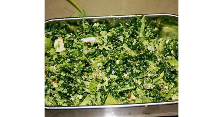 Recipe Kale, broccoli and almond salad by Sunshine Mumma, learn to make this recipe easily in your kitchen machine and discover other Thermomix recipes in Side dishes.