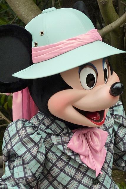 I like the hat, Minnie!