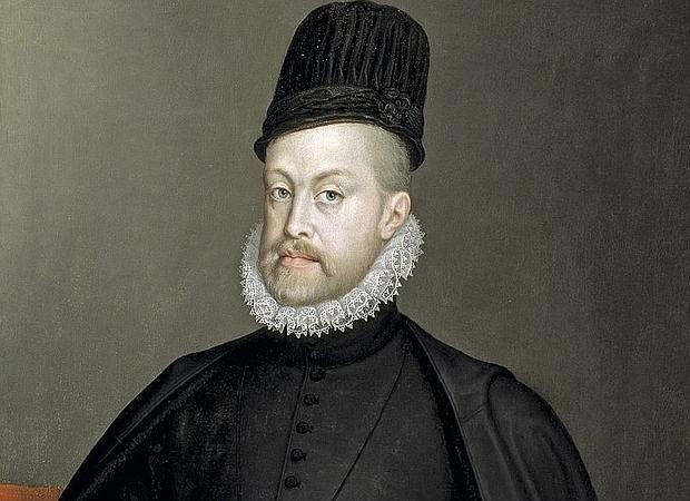 Retrato de Felipe II, que aparece citado en el himno de Holanda como Rey de España